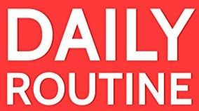 Get Into a Daily Routine